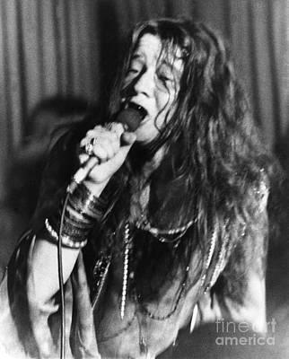 Janis Photograph - Janis Joplin (1943-1970) by Granger