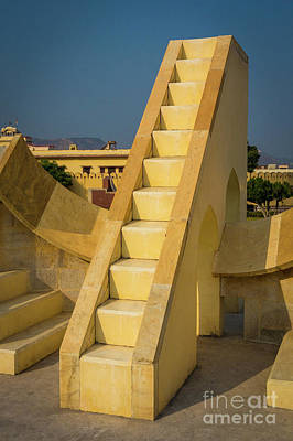 Astronomical Art Photograph - Jantar Mantar by Inge Johnsson