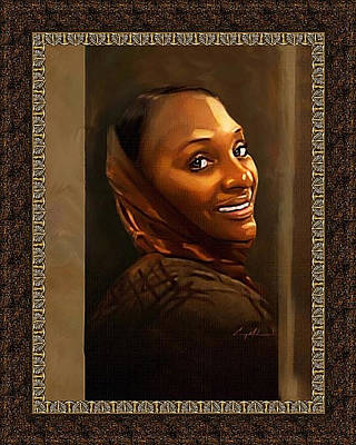 Painting - Jantrez by Carey Muhammad