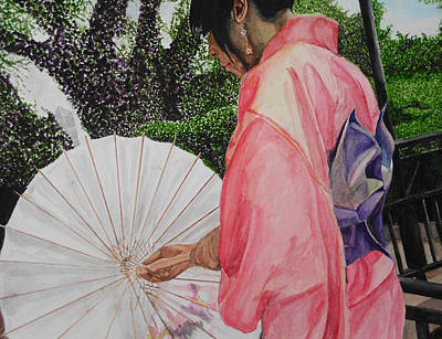 Drawing - Japanese Based by Kodjo Somana