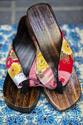 Photograph - Japanese Sandals by Ben Johnson