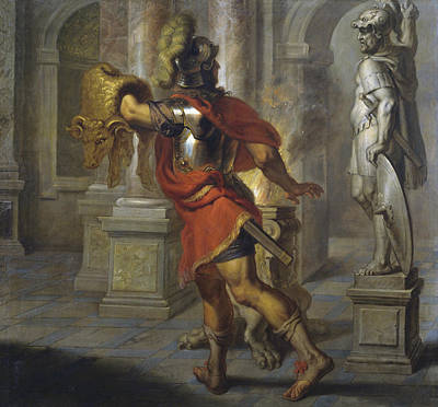 Painting - Jason With The Golden Fleece by Erasmus Quellinus II