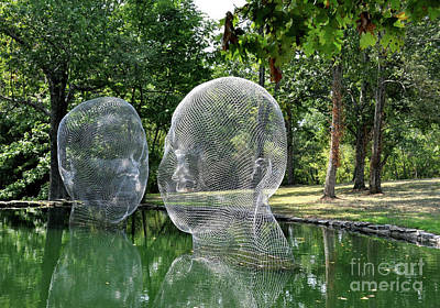 Jaume Plensa - Awilda And Irma Art Print