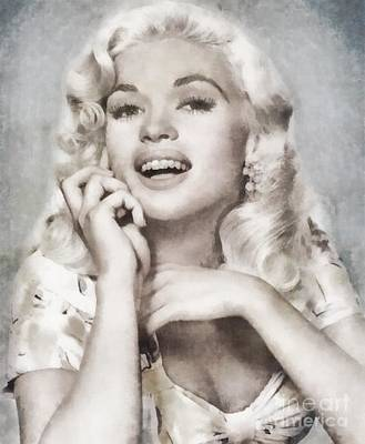 Musician Royalty-Free and Rights-Managed Images - Jayne Mansfield by John Springfield by John Springfield