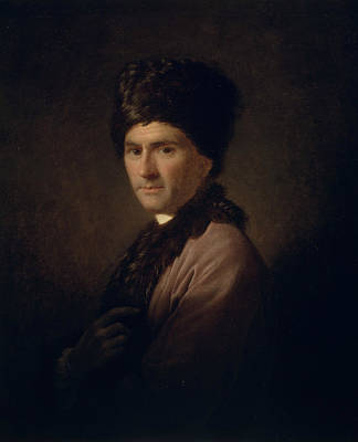 Rousseau Painting - Jean-jacques Rousseau  by Allan Ramsay