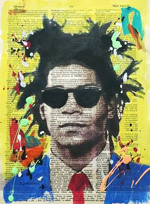 Jean-michel Basquiat Art Print by Venus