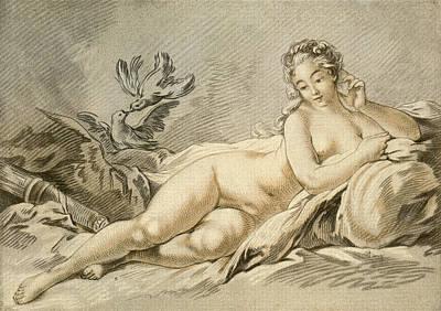 Jeanne Antoinette Poisson, Marquise De Art Print by Vintage Design Pics
