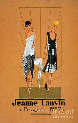 Jeanne Lanvin Design, 1927 Art Print by Science Source