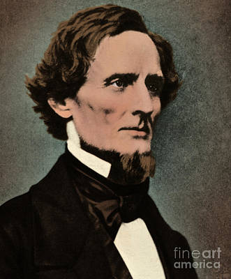Jefferson Davis, President Art Print