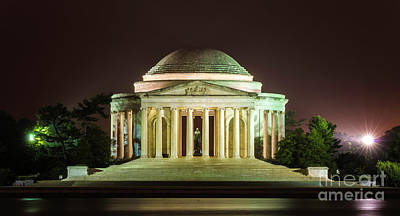 Jefferson Memorial Wall Art - Photograph - Jefferson Memorial by Baltzgar