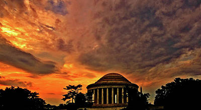 Photograph - Jefferson Memorial  by John Harding