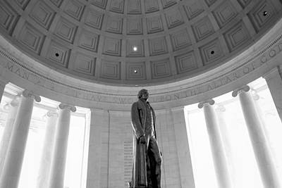 Politicians Royalty-Free and Rights-Managed Images - Jefferson Memorial by Valentino Visentini
