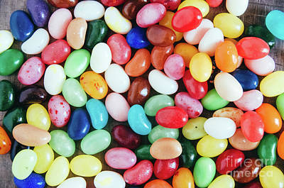 Photograph - Jelly Beans by Andrea Anderegg
