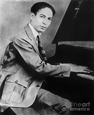 Piano Photograph - Jelly Roll Morton by Granger