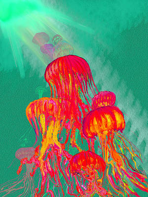 Painting - Jellys2 by Martin Hardy