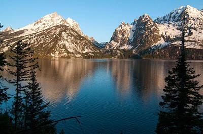 Photograph - Jenny Lake by Steve Stuller