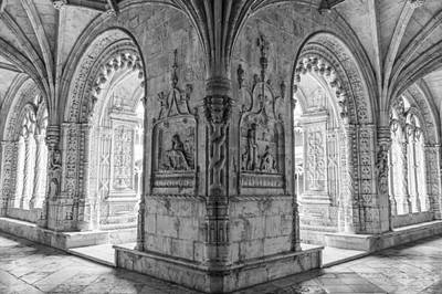 Photograph - Jeronimos Monastery Belem Lisbon by For Ninety One Days