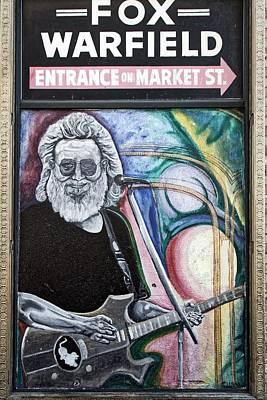 Jerry Garcia Photograph - Jerry Garcia - San Francisco by L O C