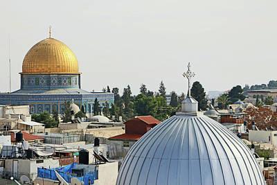 Photograph - Jerusalem Domes by Munir Alawi