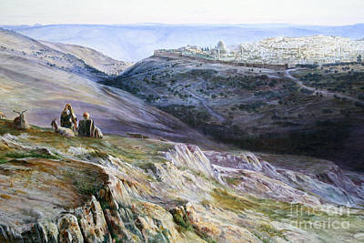 Jerusalem Painting - Jerusalem by Celestial Images
