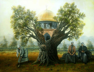 Jerusalem Painting - Jerusalem by Jihad