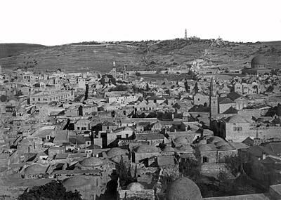 Photograph - Jerusalem Old City by Munir Alawi