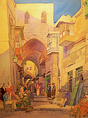 Photograph - Jerusalem Old City Street by Munir Alawi