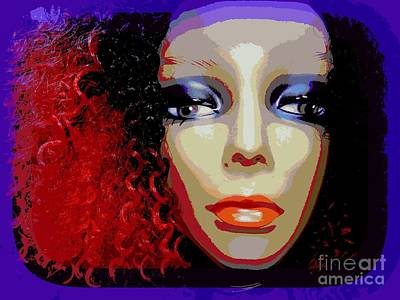 Balck Art Digital Art - Jessica by Ed Weidman