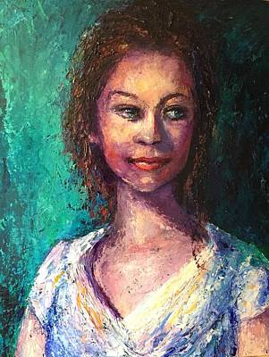 Painting - Jessica by Shannon Grissom