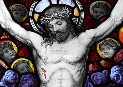 Photograph - Jesus Blood by Munir Alawi