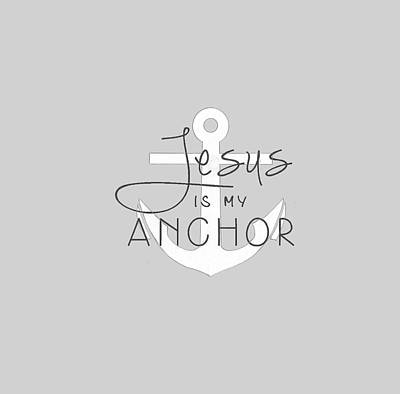 Painting - My Anchor T-shirt by Herb Strobino