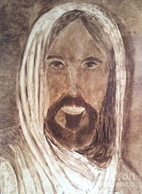 Painting - Jesus Is The Christ, The Holy Messiah by Richard W Linford