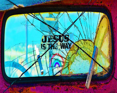 Jesus Is The Way Art Print