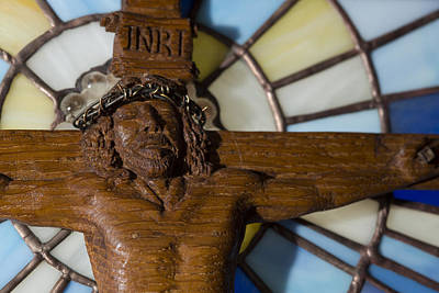 Photograph - Jesus On The Cross by Cindy D Chinn