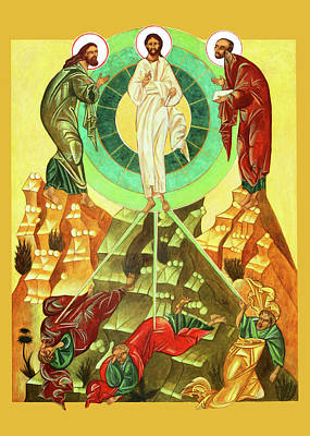 Photograph - Jesus Transfiguration by Munir Alawi