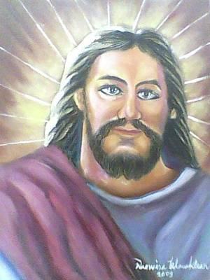Painting - Jesus by Wanvisa Klawklean