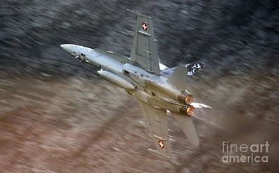 Warcraft Photograph - Jet Fighter by Angel  Tarantella