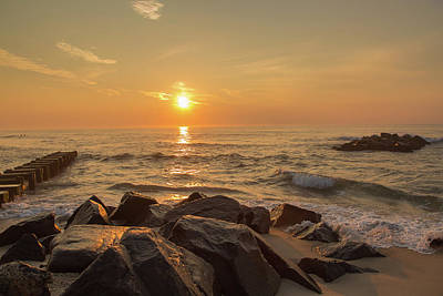 Photograph - Jetty Sunrise by Kathleen McGinley