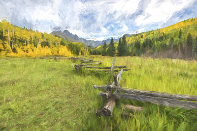 Digital Art - Jewel Of Colorado by Jon Glaser