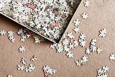Jigsaw Puzzle Art Print