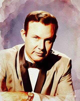 Music Paintings - Jim Reeves, Country Music Legend by Esoterica Art Agency