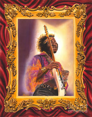 Jimi Hendrix Let Me Stand Next To  Your Fire Original by Alex Mets