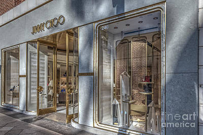 Photograph - Jimmy Choo Beverly Hills by David Zanzinger
