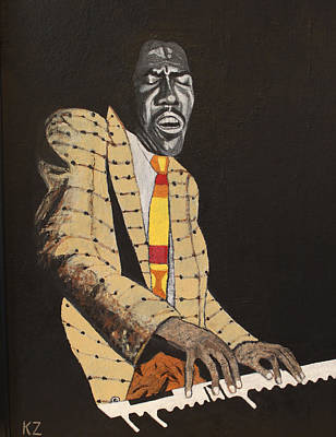 Jimmy Smith.king Of The Jazz Hammond B-3. Art Print