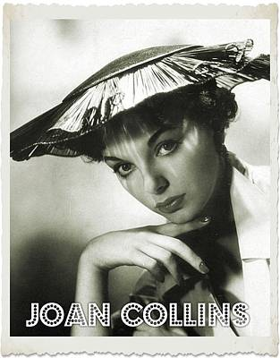 Singer Digital Art - Joan Collins by John Springfield