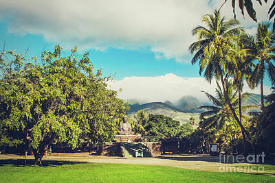 Photograph - Jodo Shu Mission Lahaina Maui Hawaii by Sharon Mau