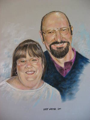 Joe And Patsy Art Print