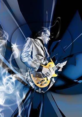 Mixed Media - Joe Bonamassa Blues Guitarist by Marvin Blaine