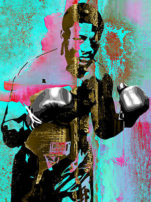 Joe Frazier Collection Art Print
