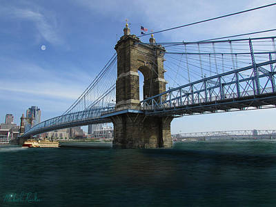 John A. Roebling Suspension Bridge Original